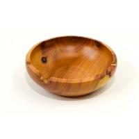 Miska ze švestkového dřeva se sukem na okraji