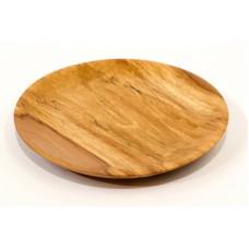 Větší talíř ze špaltované olše