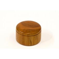 Malá kazeta z třešňového dřeva